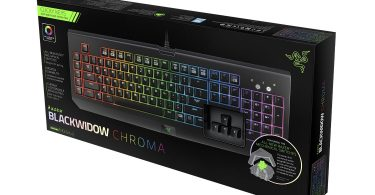 Razer BlackWidow Chroma Mechanical Gaming Keyboard Box